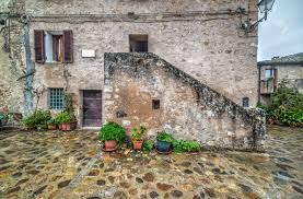 100 Rustic House In Monteriggioni Italy Stock Photo Picture And