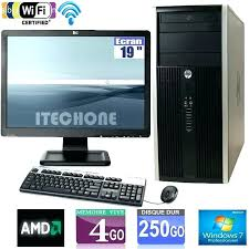 ordinateur bureau windows 7 ordinateur bureau professionnel pc bureau professionnel 4 pc
