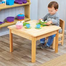 Buy Toddler Wooden Role Play Table And Chairs | TTS