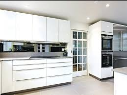White Kitchen Design Ideas 2014 by Modern White Kitchen Cabinets With Black Countertops Cabinet