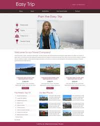 Easy Trip Travel Website 5 Bootstrap Template