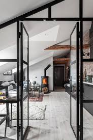 100 Attic Apartment Floor Plans Cool Attic Apartment With Brick Walls 35 Sqm Photos