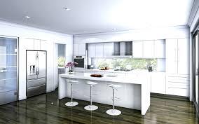 Beach Hut Themed Bathroom Accessories by Kitchen Design Ideas Modern Beach Style Large Kitchen White