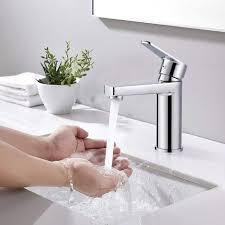 woohse wasserhahn bad armatur waschtischarmatur waschbecken einhebel waschtischmischer mischbatterie badarmaturen waschtisch für badezimmer chrom