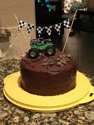 Monster Truck Birthday Cake | Henry's 3rd Monster Truck Birthday ... Monster Truck Birthday Cake Design Parenting Toy Truck Was Added To The Top Tiffanys For Cassys Cakes Jam Cake Pinterest Jam And How Make Part 2 Of 3 Jessica Harris Party Walmart Criolla Brithday Wedding Shortcut Google Search Scheme Of The Completed Or Decoration Ideas Little Adorable Inspiration Blaze And Elegant Themed School Time Snippets