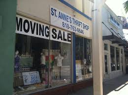 100 Century 8 Noho St Annes Thrift Shop Closing In NoHo North Hollywood CA