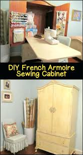 Sewing Cabinet Armoire – Abolishmcrm.com An Old Computer Armoire Turned Into A Craft Storage Complete With Amazoncom Hooker Fniture Brookhaven Computer Cabinet In Clear Update An Or Tv Cabinet Be On The Lookout At Yard Desk With Keyboard Tray Ikea How To Build Armoire Steveb Interior Sewing Fold Up Table Brown Storage Workstation Diy Abolishrmcom Arrow Sewing Cabinets Norma Jean Wooden Table Reviews Diy Extraordinaire Remodelicious