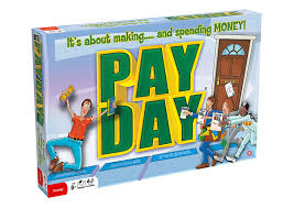 Payday Board Game Amazoncouk Toys Games