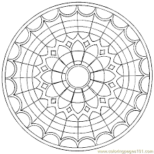 Mandala Coloring Page 09