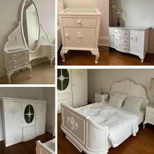 komplettes schlafzimmer um 1910 1920 berlin barock bett schrank kommode etc