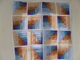 How to Make a Quilt Log Cabin Tunnels Quilt Pattern Video