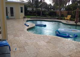 pattern travertine pool modern with pool deck pool patio