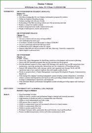 Internship Resume Sample: 51 Details You Should Consider