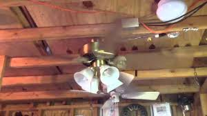 Replacement Ceiling Fan Blade Arms Hampton Bay by Hampton Bay Huntington Iii Ceiling Fan Youtube