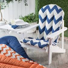 Navy Blue Adirondack Chair Cushions by Furnitures Patio Cushions Cheap Target Patio Chair Cushions