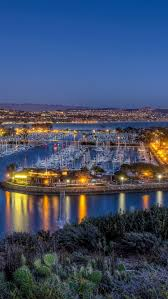 The Coast Dana Point California Harbor At Night Right Next To Laguna Beach One Of Prettiest Places On Earth