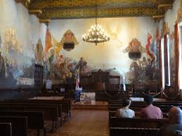 mural room picture of santa barbara county courthouse santa