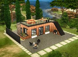 100 Modern Houses Blueprints 69 New Of Sims 4 House Image
