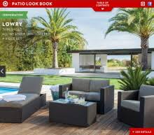Threshold Patio Furniture Covers by Target Threshold Faux Wood Patio Furniture By Katie Wittenberg At