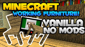 commands not working for furniture lib minecraft just furniture