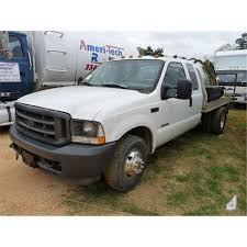 2003 FORD F350 FLATBED SEPTIC TRUCK
