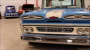 100 61 Chevy Truck 19 Apache 10 Blue YouTube