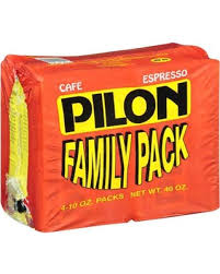 Pilon Family Pack Espresso Coffee 4 Ct