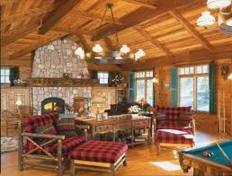 Country Style Living Room Decorating Ideas by Leather Rustic Cottage Living Room Home Design Ideas