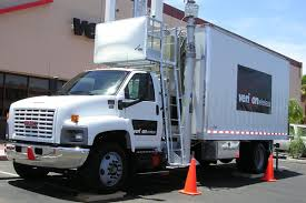 100 Cow Truck Verizon Delivers First 4G COW To Serve Events And Emergencies With