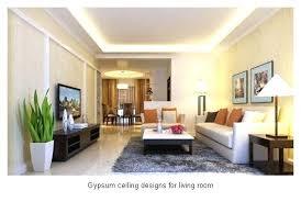 Remarkable Modern Gypsum Ceiling Designs For Living Room