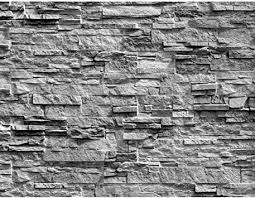 fototapete steinwand 3d effekt 352 x 250 cm vlies tapeten wandtapete moderne wanddeko wohnzimmer schlafzimmer büro flur grau 9082011c