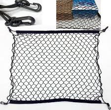 70x70cm Nylon Car Storage Net Mesh Hatchback Rear Luggage Cargo Trunk Extra Organizer SUV
