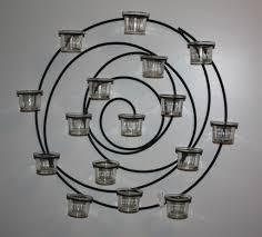 Metal Wall Spiral 16 GlassCup Votive Candle Holder 21'' Bring Romantic Feeling For Christmas With Mercury Glass Antler Candle Holders Large Hurricane Pottery Barn Au Design Krazy Lighting Francis Dont Disturb This Groove The Look Less Knockoff Hurricanes Moody Girl Projects Candlesticks Decorating With Interior Chandeliers Adele Chandelier Small Pottery Barn Inspired Rope Wrapped Candleholder Diy Stonegable Pivot Mirrors Restoration Hdware Bathroom Vanities Really Simple Pillar Holder