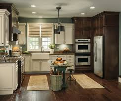 Rustic Kitchen With Contrasting Finishes 2015 Modern Small Designs Inspirations Hd