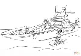 Click The Lego Police Boat Coloring Pages