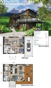 100 Modern Architecture House Floor Plans Plan 90277PD Exciting Contemporary Plan Plans