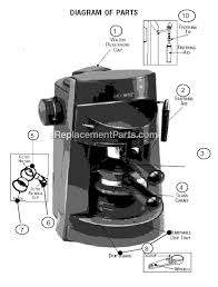 Mr Coffee ECM250 Parts List And Diagram EReplacementParts