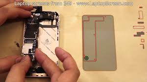iPhone 4S screen replacement repair disassembly and reassembly