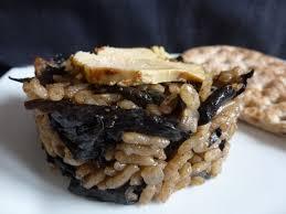 cuisiner des trompettes de la mort risotto aux chignons trompettes de la mort et au foie gras l