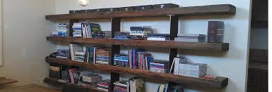Check Out Some Cool Reclaimed Wood Shelving Post 20 Bookshelves