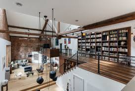 100 Exposed Joists Stylish Homes Loft Features Exposed Joists And Brick In