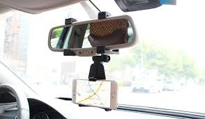 Adjustable Rotary GPS Mobile Phone Car Auto Rearview Mirror Mount Holders Stands For Lenovo P2 P2a42