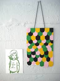 Simple Hanging Craft Wall Art