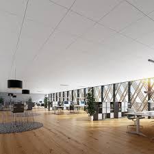wool suspended ceiling tile panel acoustic blanka