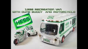 100 Hess Toy Truck Values 1998 Recreation Van With Dune Buggy And Motorcycle Video Review