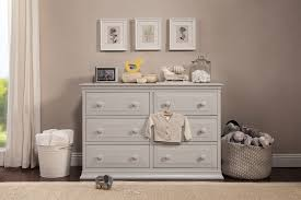 Baby Changing Dresser With Hutch by Davinci Signature 6 Drawer Double Dresser Davinci Baby