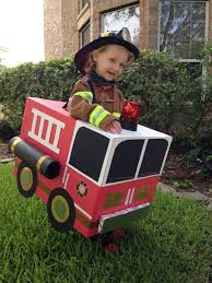 The Perfect Firefighter Costume - Complete With Fire Engine ...