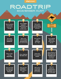 Hard Halloween Scavenger Hunt Riddles by How To Turn Your Road Trip Into The Ultimate Scavenger Hunt