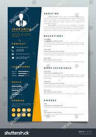 Resume Design Template Minimalist Cv Business Stock Vector (Royalty ... 70 Welldesigned Resume Examples For Your Inspiration Piktochart 15 Design Ideas Ipirations Templateshowto Tutorial Professional Cv Template For Word And Pages Creative Etsy Best Selling Office Templates Cover Letter Application Advice 2019 Modern Femine By On Dribbble Editable Curriculum Vitae Layout Awesome Blue In Microsoft Silent How To Design Your Own Resume Ux Collective