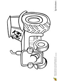 Coloriage Tracteur Tom